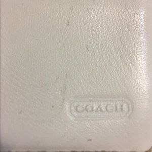 Coach Bags - COACH Signature 2001 Collection Ivory Wallet